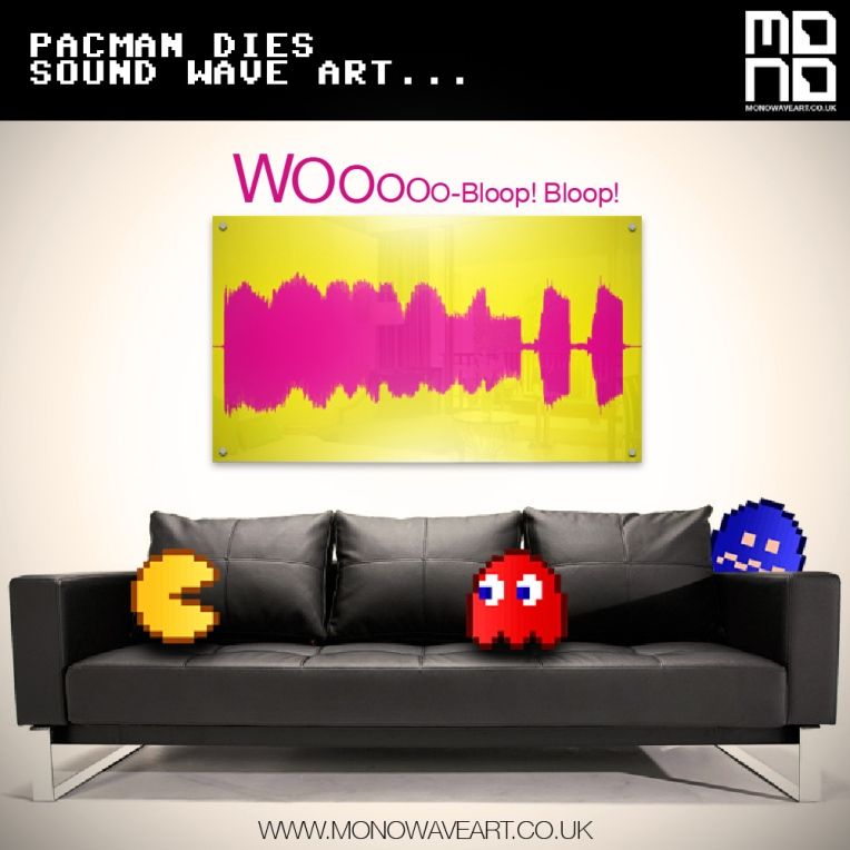 pacman dies soundwave art
