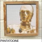 c3p0 pantone swatch art