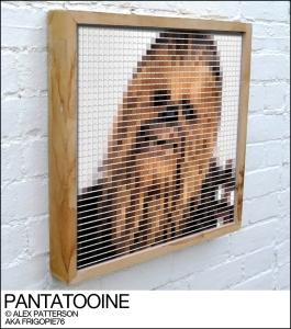 chewbacca pantone swatch art