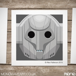 Cyberman Illustration