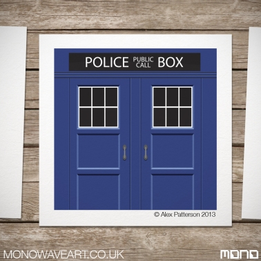 Tardis Illustration