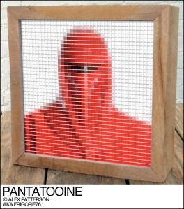 imperial guard pantone swatch art