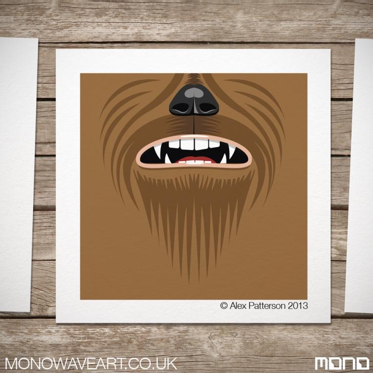 Chewbacca Minimalist Art