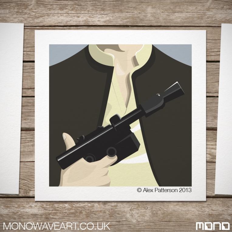 Han Solo Minimalist Art