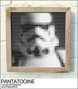 stormtrooper pantone swatch art