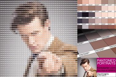 Doctor Who Pantone Art