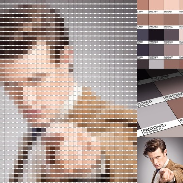 Doctor Who Pantone Art