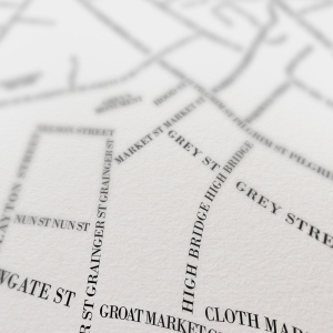 newcastle map close up