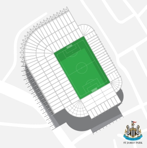 st james park from above
