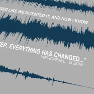 Sound wave song close up with lyrics