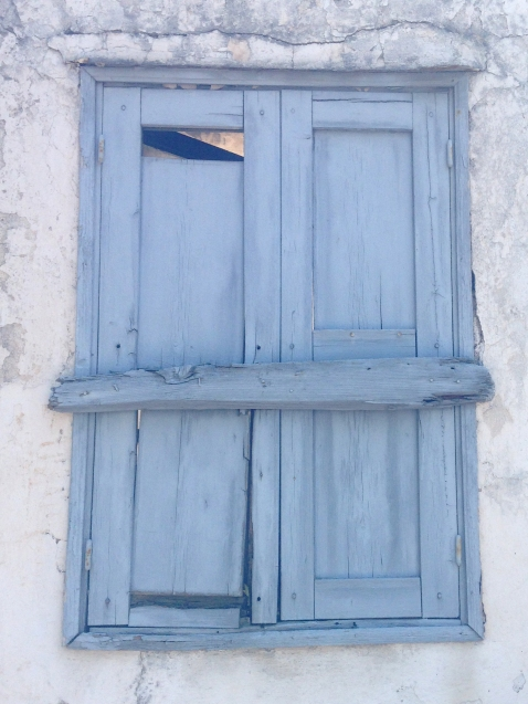 Old hatch - Love the Greek colour