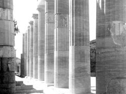 Pillars at the Acropolis, Lindos