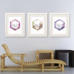 Hex Cube Prints