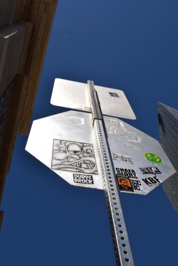 Sticker Bomb Sign