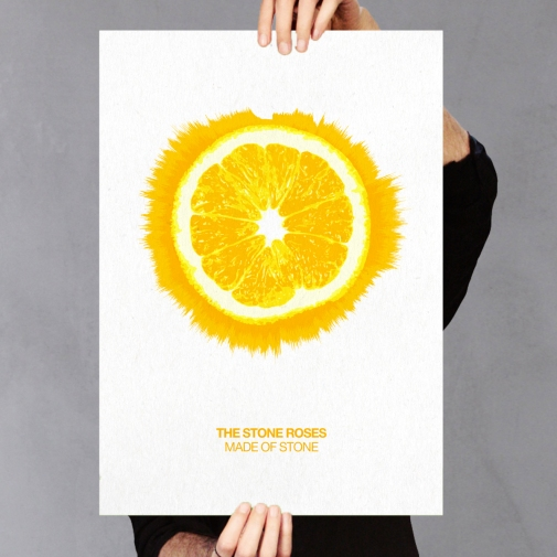 The Stone Roses Made Of Stone Art Print
