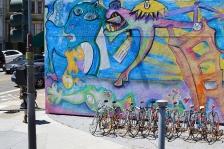 Bikes and Art