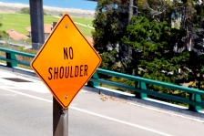 No Shoulder
