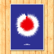 Mod Sound Wave Art Print