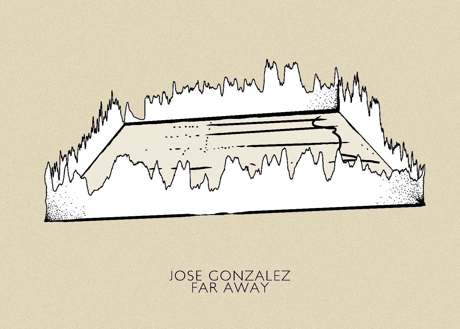 Jose Gonzalez - Far Away Sound Wave Art