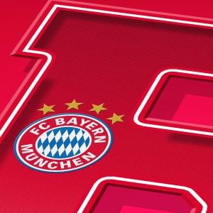 Bayern Munich Word Art