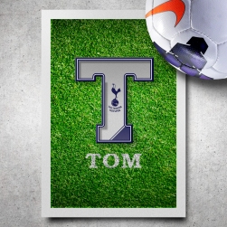 Tottenham Hotspur Name Art