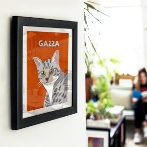 Cat Paw-trait