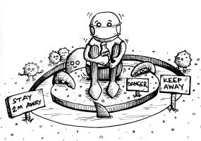 Anti-Social distancing